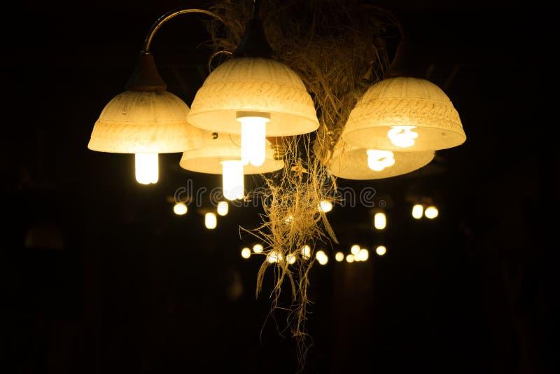 Laternenbeleuchtungsweinlese lizenzfreie stockbilder