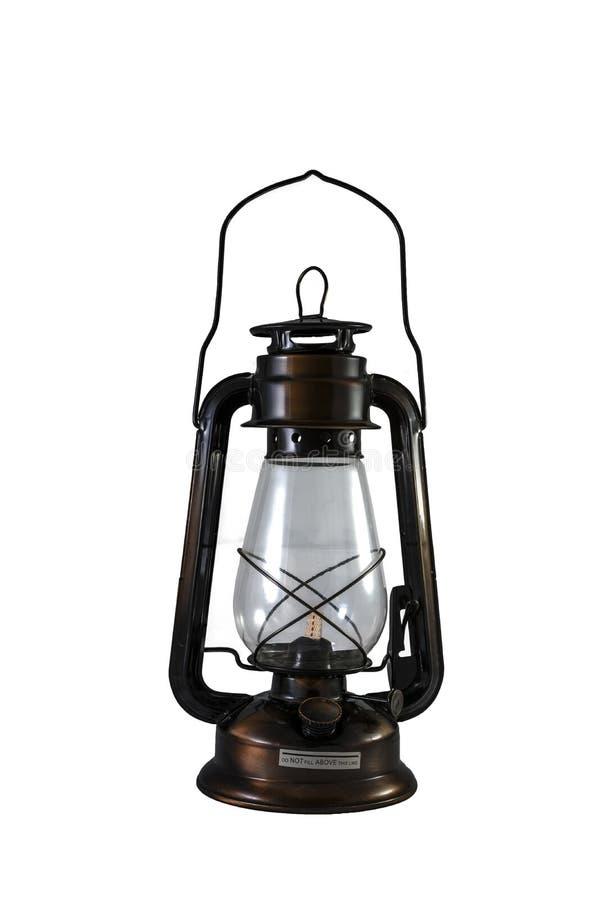 Laternenkerosin-Öllampe stockfoto