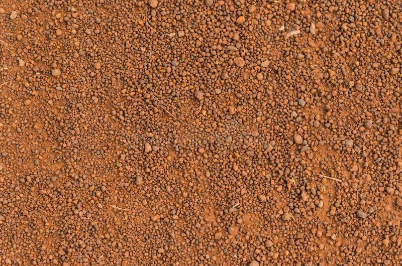 Laterytowa glebowa tekstura, odgórny widok zdjęcia royalty free