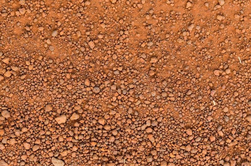 Laterytowa glebowa tekstura, odgórny widok fotografia royalty free