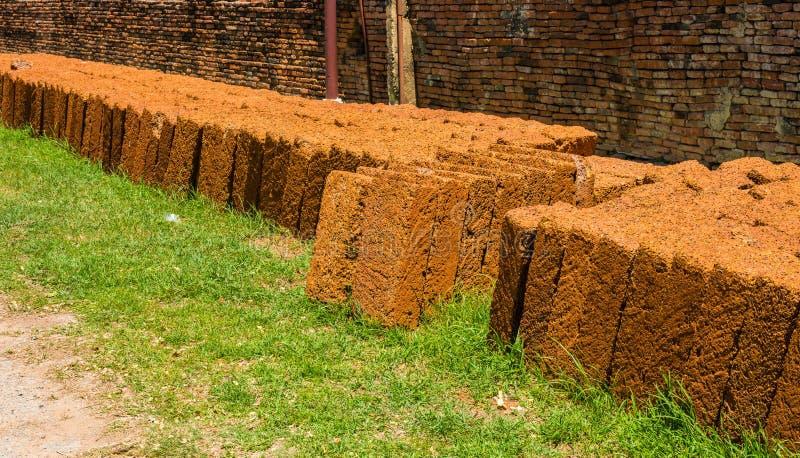 Laterytu Kamienny łup Lateryt jest miękkim skałą obszernie używać obraz stock