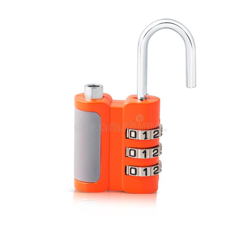 Latest 3 digit combination lock pattern and beautiful orange color. Keep your home and office safe with latest 3 digit combination lock pattern and beautiful stock photos
