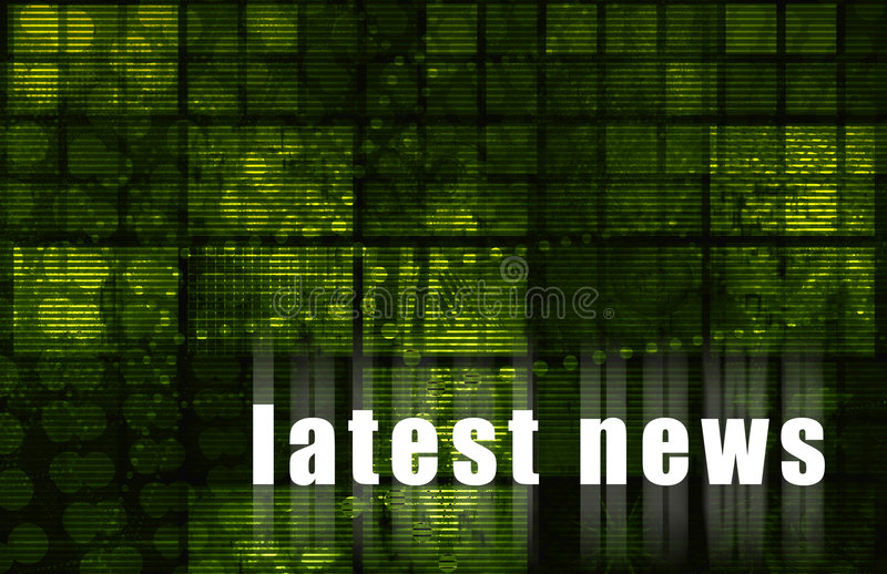 Download Latest News stock illustration. Image of breaking, information - 7352321