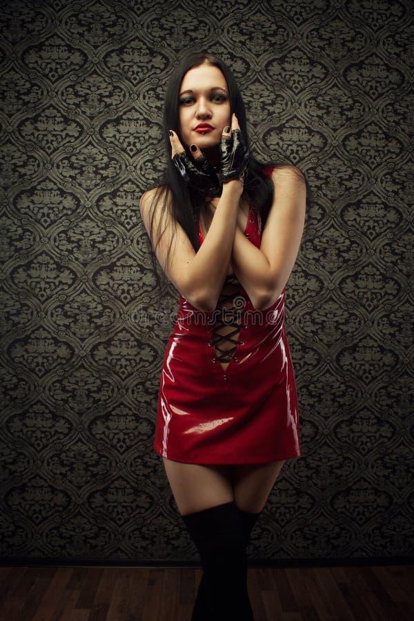 Latex doll royalty free stock image