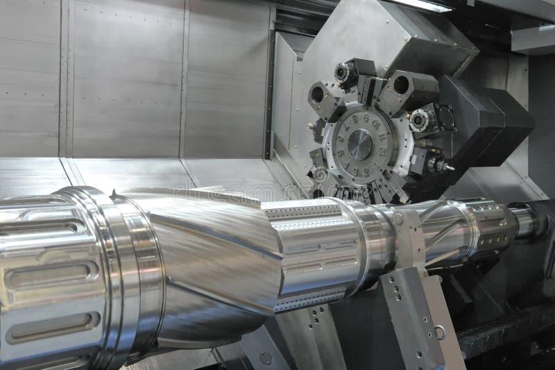 Lathe, CNC milling. Photo of a Lathe, CNC milling royalty free stock image