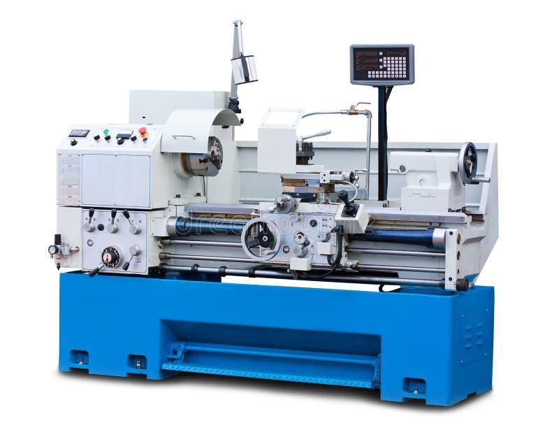 Lathe turning machine stock photography