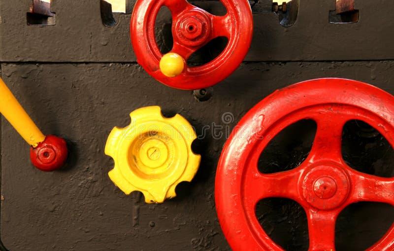 Lathe valves royalty free stock photos