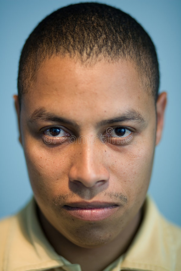Latijns Afro-Amerikaans portret royalty-vrije stock foto