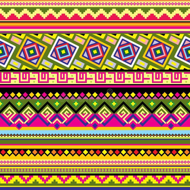 Latijns-Amerikaans patroon royalty-vrije illustratie