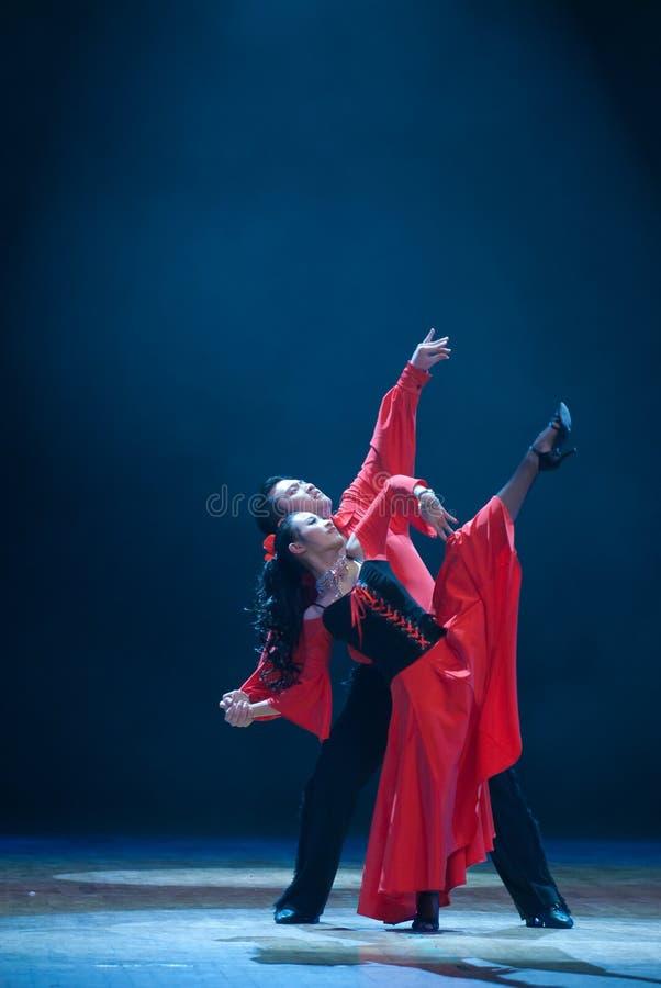 Latijnse dans stock fotografie