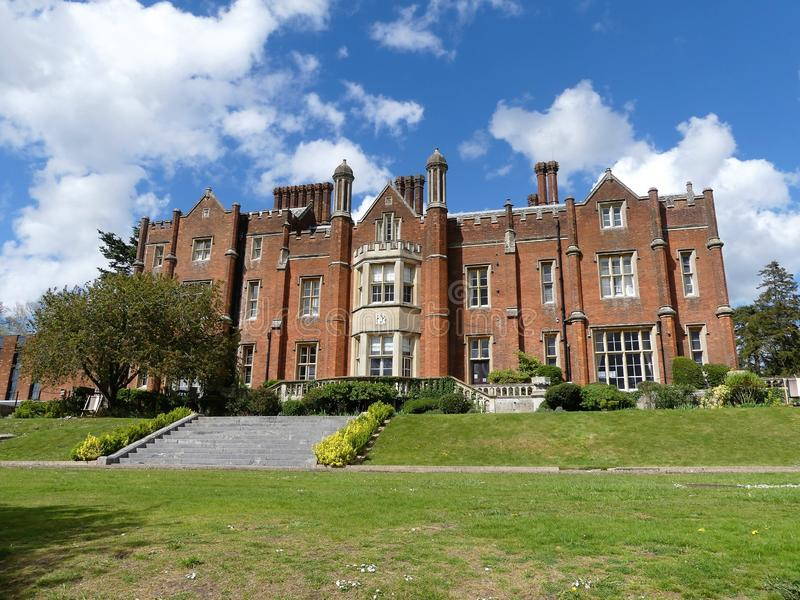 Latimer House a Tudor-style mansion, previously the home of the British National Defence College royalty free stock photos