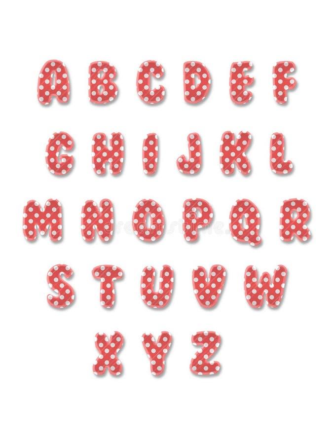 The Latin alphabet royalty free stock images