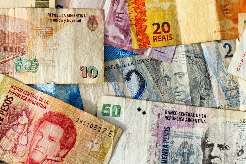 Latin - amerikanska sedlar royaltyfri fotografi