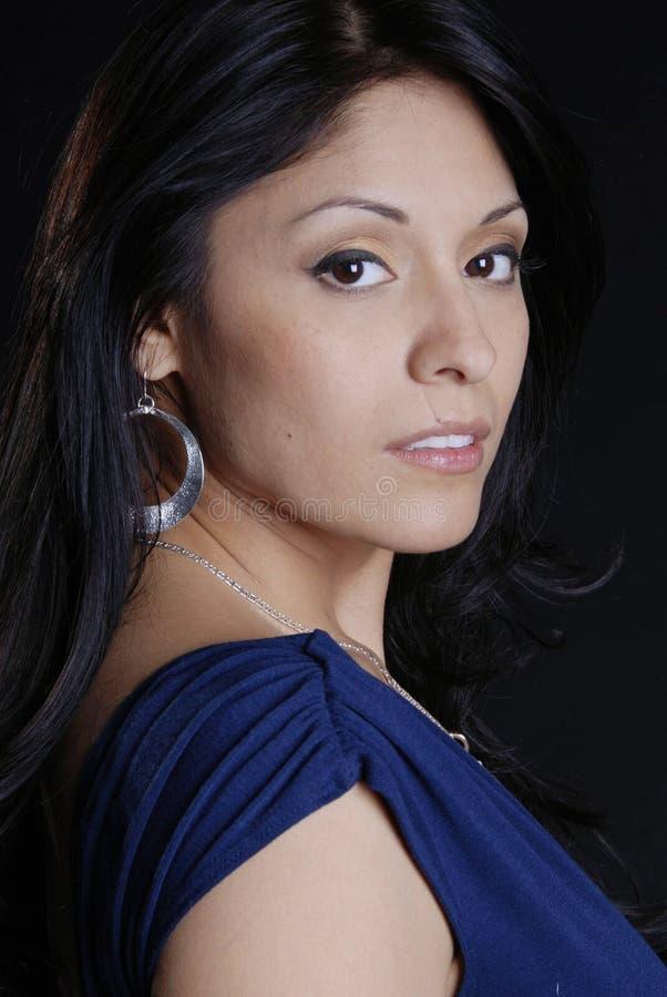 Latin beauty royalty free stock photos