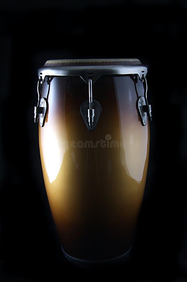 Download Latin Conga Drum On A Black Bk Stock Photo - Image: 6088320