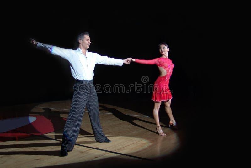 Latin Dance stock image