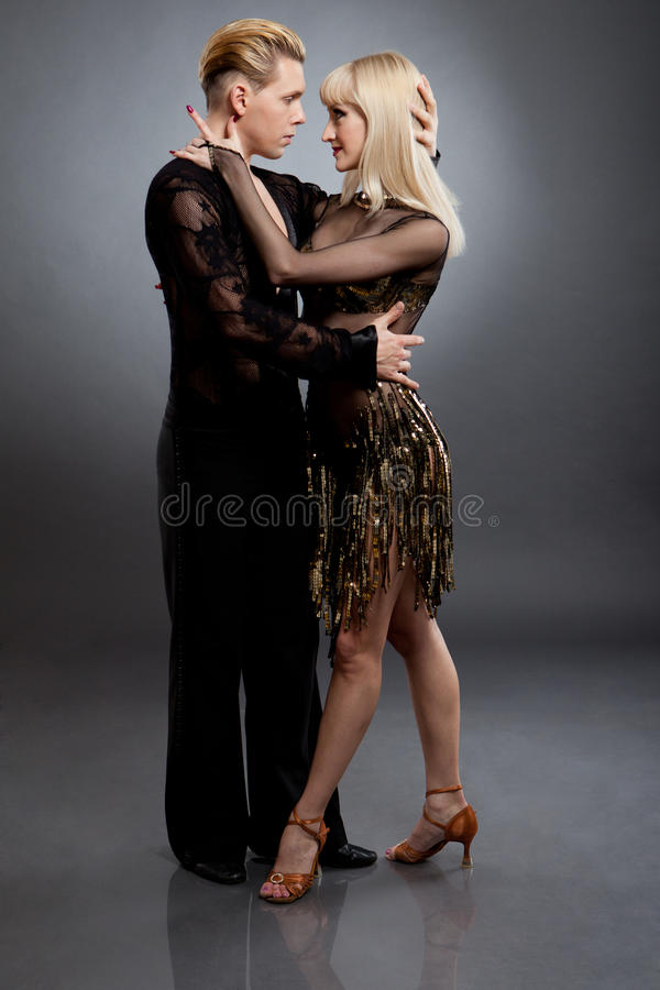 Download Latin dancers stock image. Image of flirting, action - 24503219