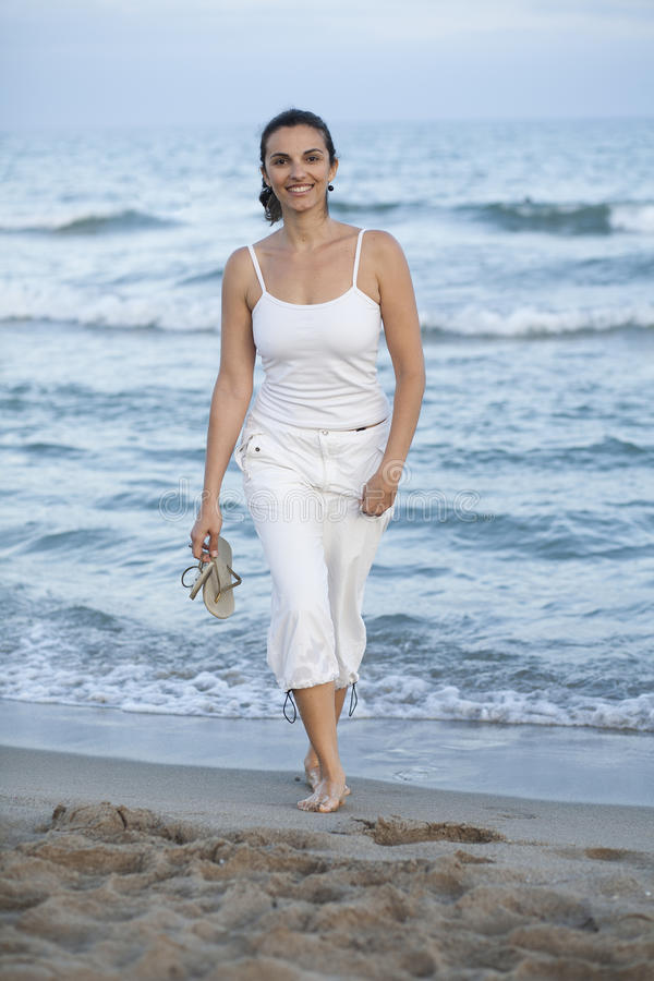 Download Latin Female Model On The Beach Stock Photo - Image: 24081180