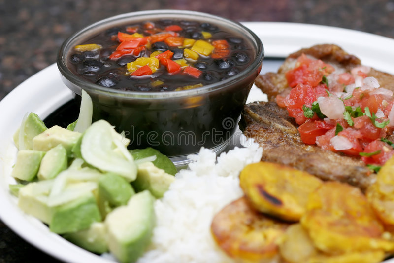 Latin Flavor stock images