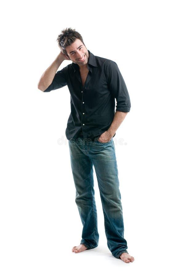 Download Latin man full length stock photo. Image of beautiful - 10598488