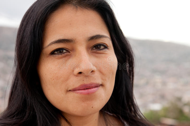 Latin Woman royalty free stock image