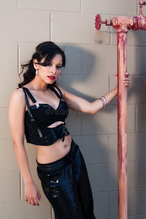 Download Latina stock image. Image of hair, pants, slim, gorgeous - 24598259