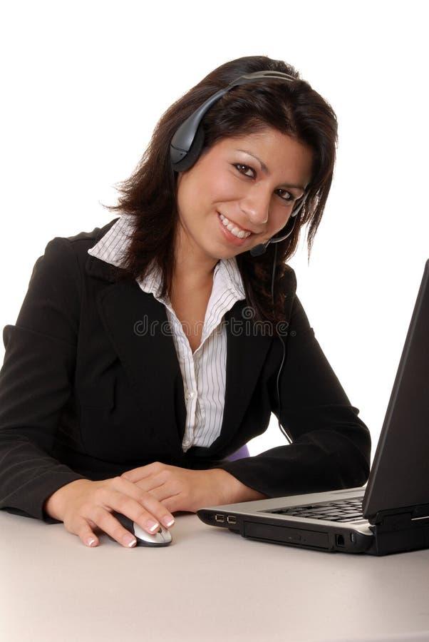 Latina biznesowa kobieta zdjęcie stock