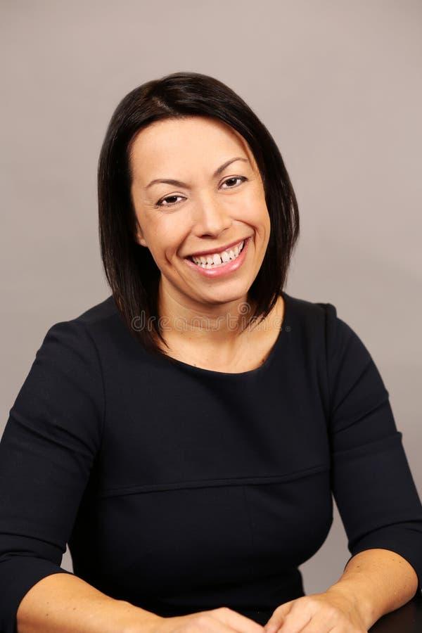Latina business woman stock photo