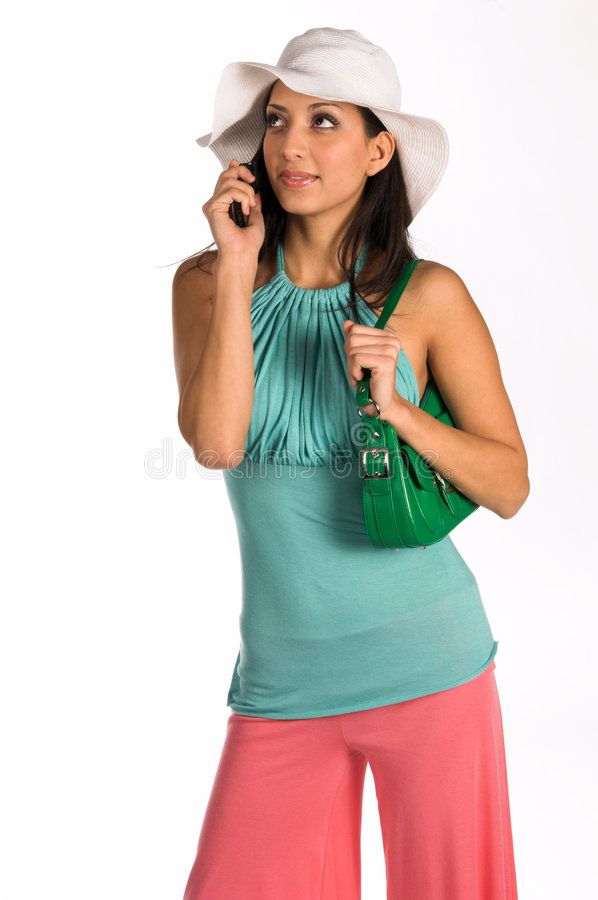 Download Latina Cell Phone Royalty Free Stock Photos - Image: 520368