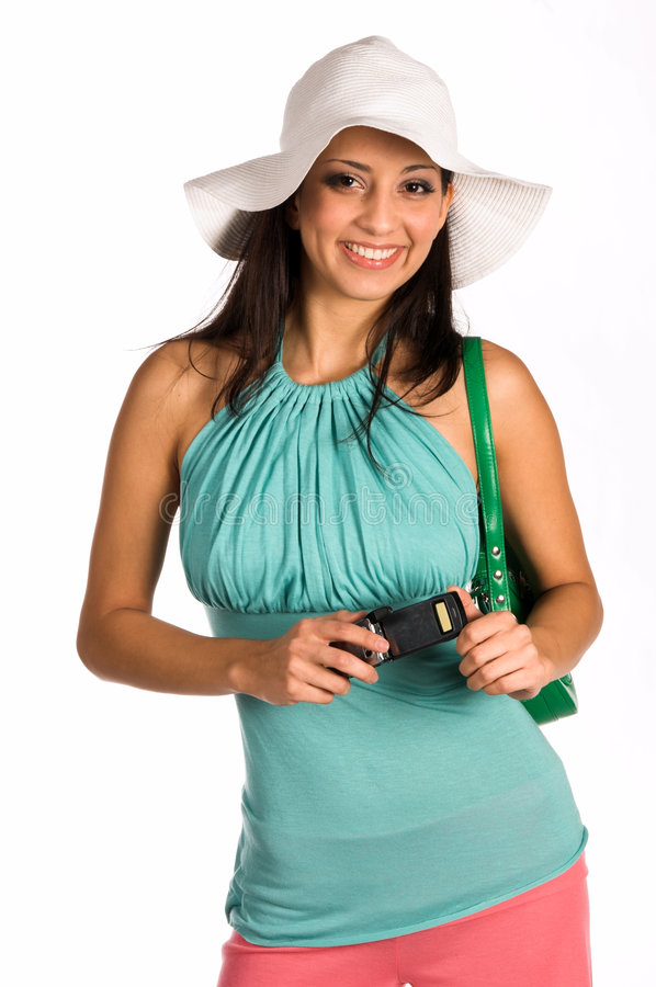 Latina Cell Phone royalty free stock images
