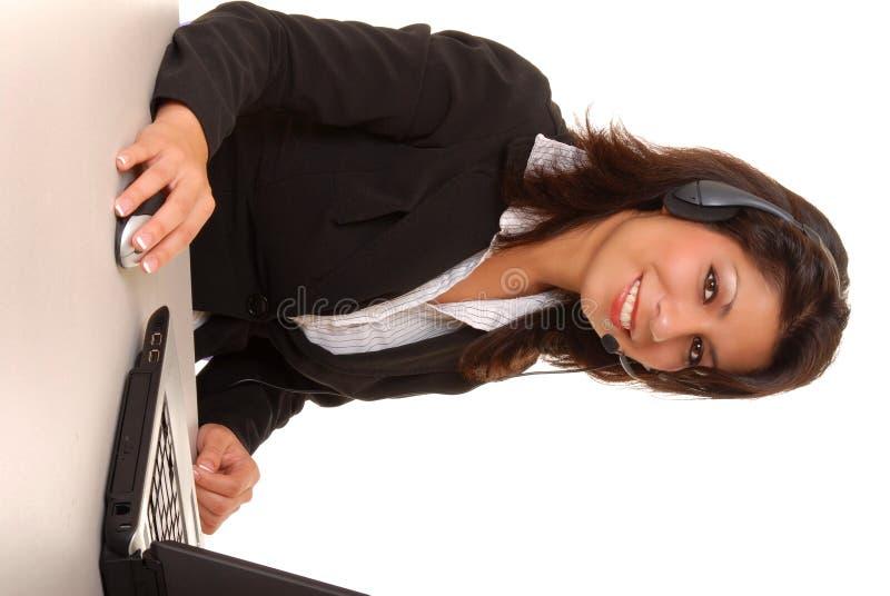 Latina-Geschäftsfrau lizenzfreie stockfotografie