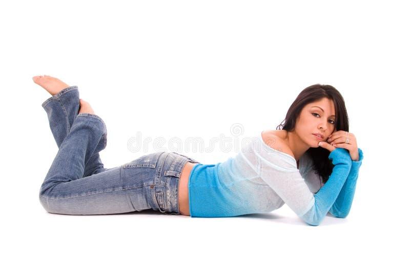 Download Latina sexy. photo stock. Image du hispanique, pattes - 4492468