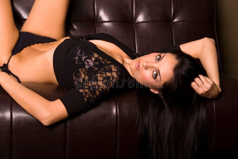 Latina sexy. immagini stock