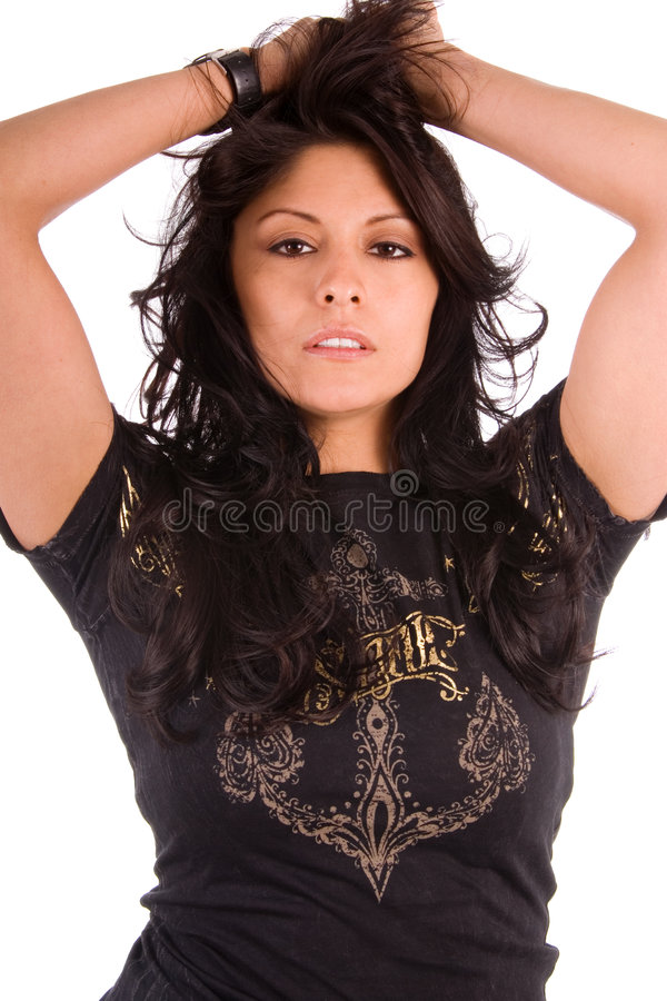 Latina sexy. fotografia stock