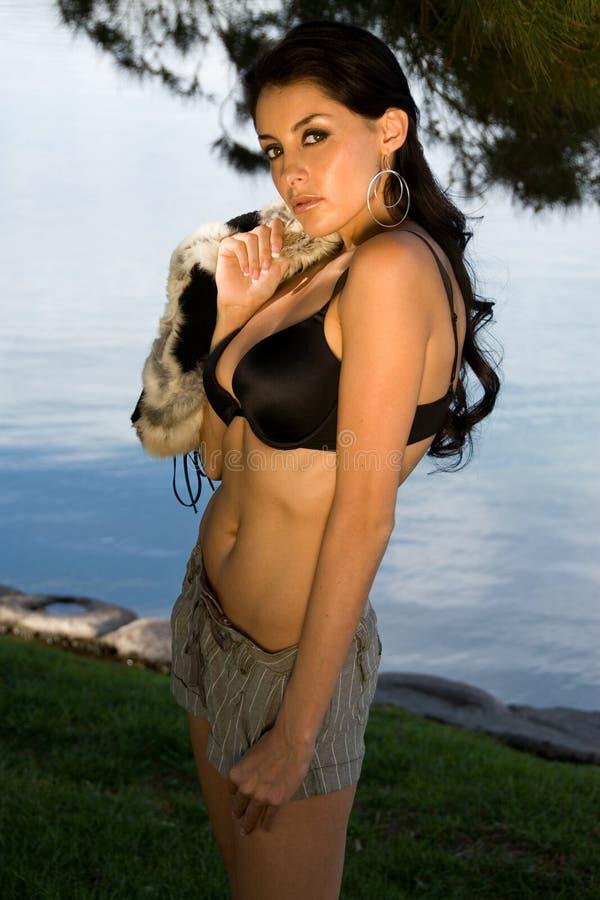 Latina sexy. fotografie stock