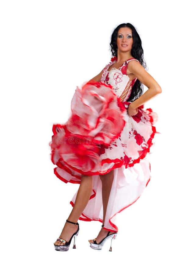 Latina-Tänzer stockbilder