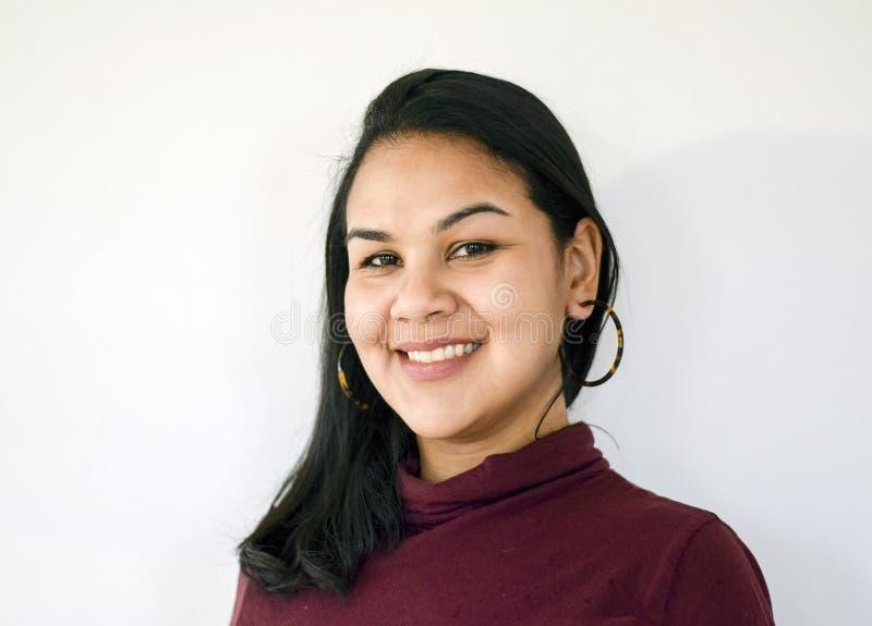 Latina woman stock image