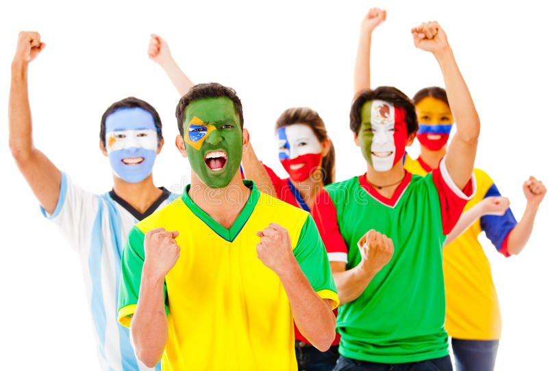 Download Latinamerican Group Celebrating Stock Photo - Image: 24387726