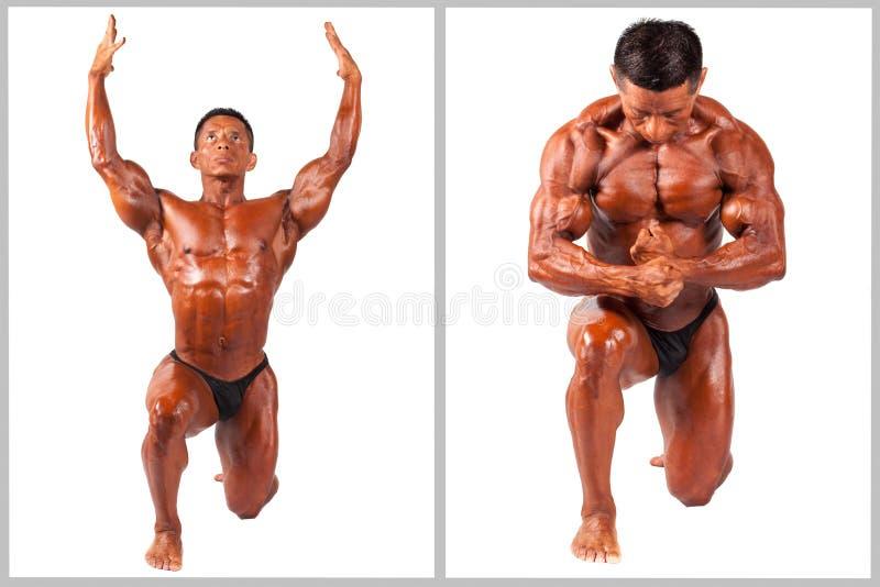 Download Latinamerikansk Muskelman Som Poserar, Uppsättning Arkivfoto - Bild av härlig, övning: 37349384