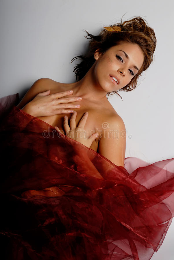 latinamerikansk silk kvinna royaltyfri fotografi