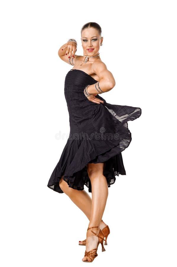 Free Latino Dancer Posing Stock Images - 18562764