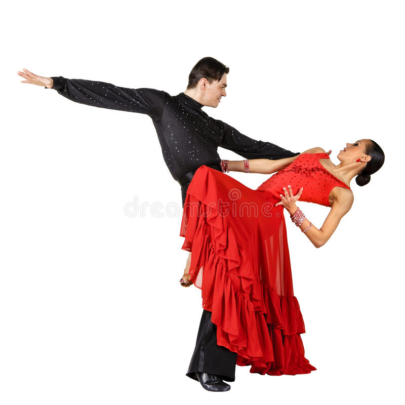 Download Latino Dancers In Action. Royalty Free Stock Photography - Image: 18948837