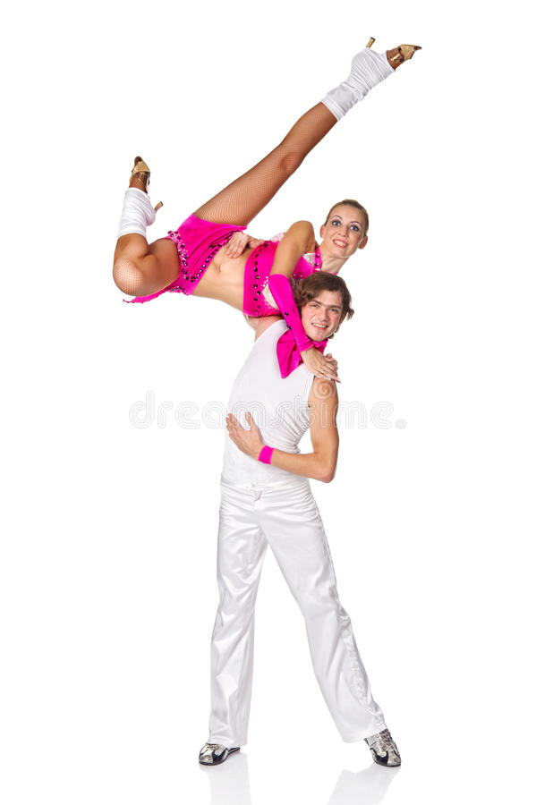 Download Latino dancers in action. stock photo. Image of dance - 26976026