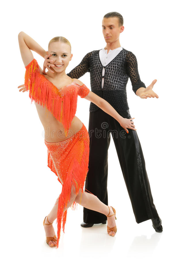 Download Latino dancers stock image. Image of fashion, isolated - 37103149