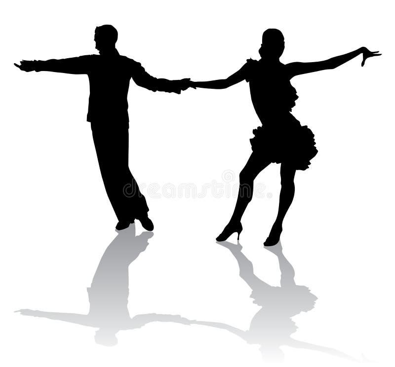 Latino dancing3 illustration de vecteur