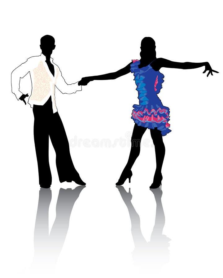 Latino dancing4 illustration stock