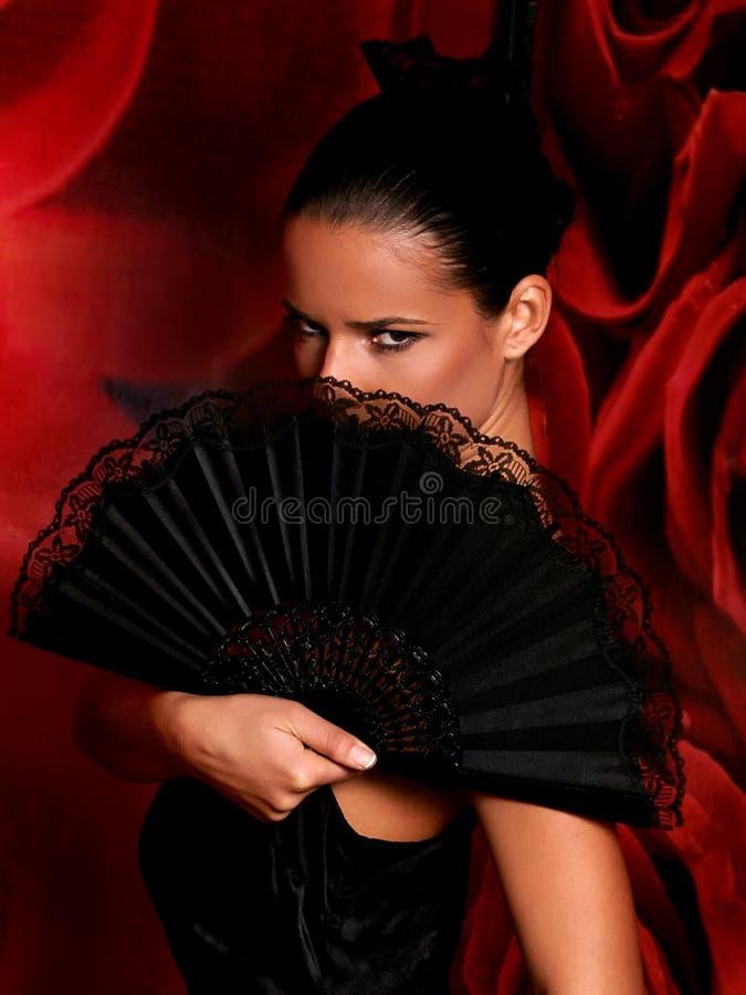 Latino danser stock foto's