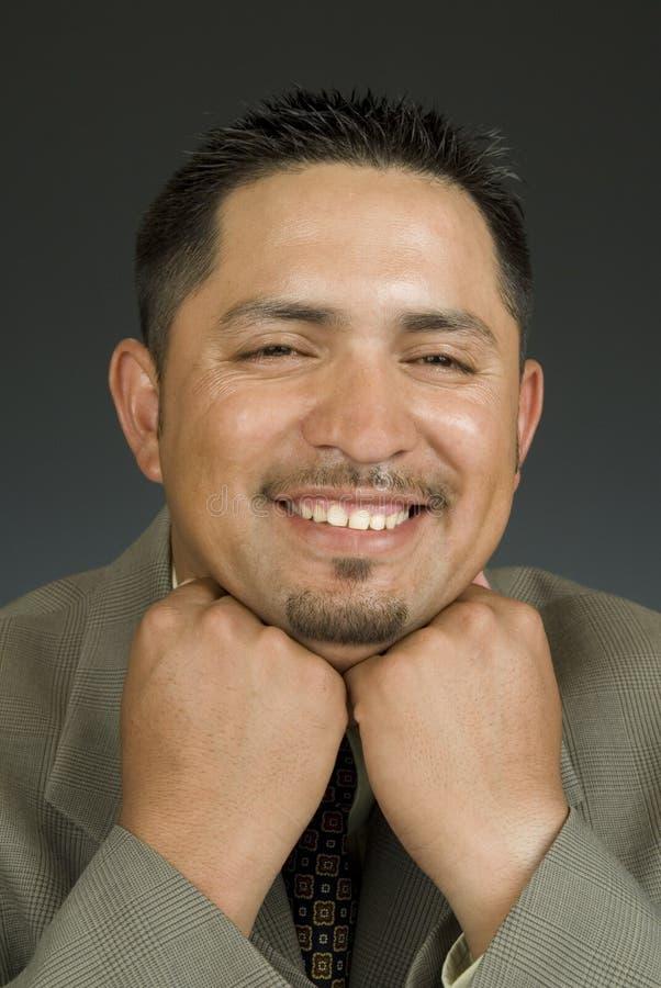 Latino felice immagine stock libera da diritti