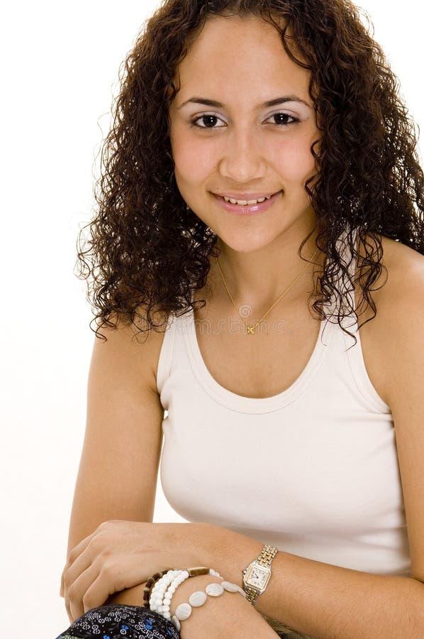 Latino-Mädchen lizenzfreies stockfoto