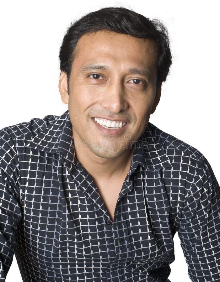 Latino Man Smiling Stock Images